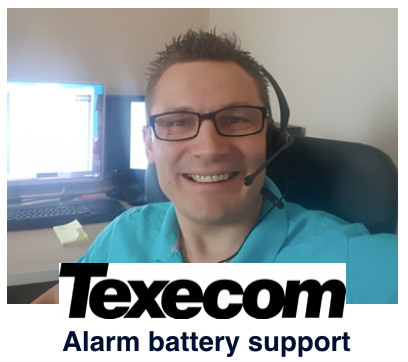 Texecom alarm battery replacement