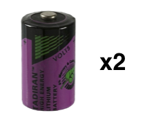 Infinite Prime 1/2 AA sensor batteries 2 x pack
