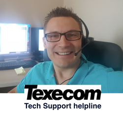 40min Telephone Texecom Support - help fixing Veritas or Premier alarm problems