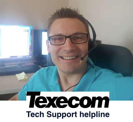 20min Telephone Texecom Support - help fixing Veritas or Premier alarm problems