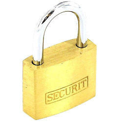 Brass padlock (40mm) - multi-purpose indoor lock