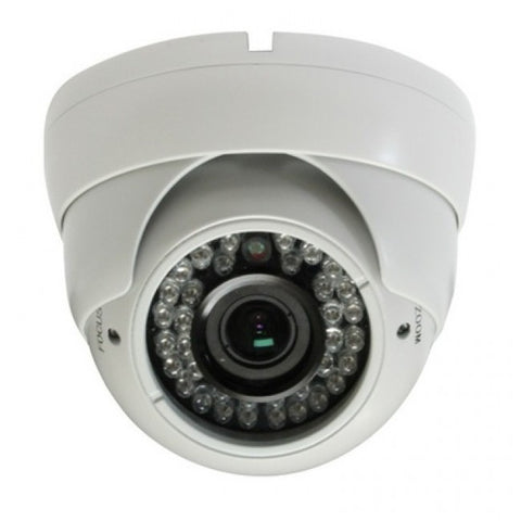 Zoom lens - vandal resistant CCTV camera 2 MP (AHD)