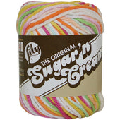 Sugar'n Cream Yarn - Ombres Super Size
