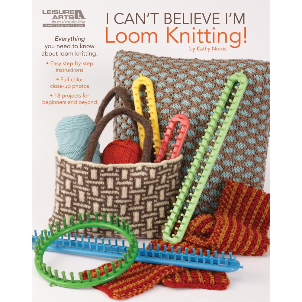 Book - I can't believe I'm Loom Knitting