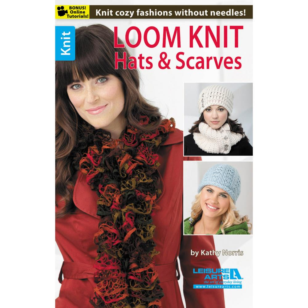 Book .... Loom Knits Hats & Scarves