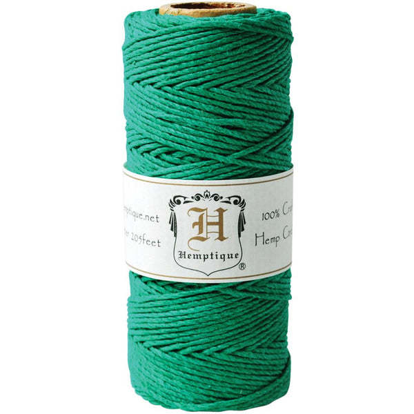 Hemptique.......... Hemp Cord Spool 20lb 62.5 meters