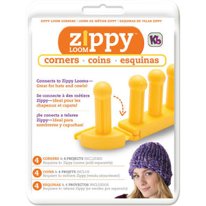 Zippy Loom Corners 4/Pkg