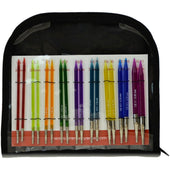 Premier Yarns-Acrylic Needles Interchangeable Deluxe Knitting Set