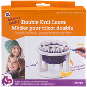 "Rotating Double Knit Loom 9.5""X10.5""X3.5"""