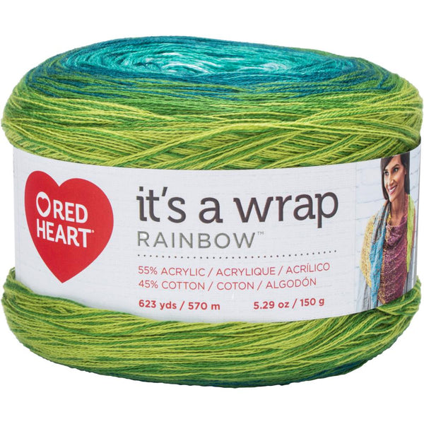 It's A Wrap Rainbow ~~Red Heart