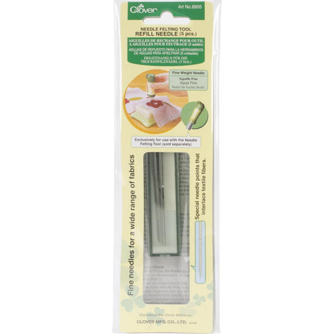 Clover Felting Needle Tool Refill Fine Weight
