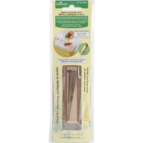 Clover Felting Needle Tool Refill Heavy Weight