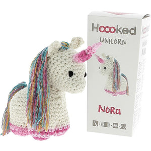 Hoooked Unicorn Nora Yarn Kit W/Eco Brabante Yarn