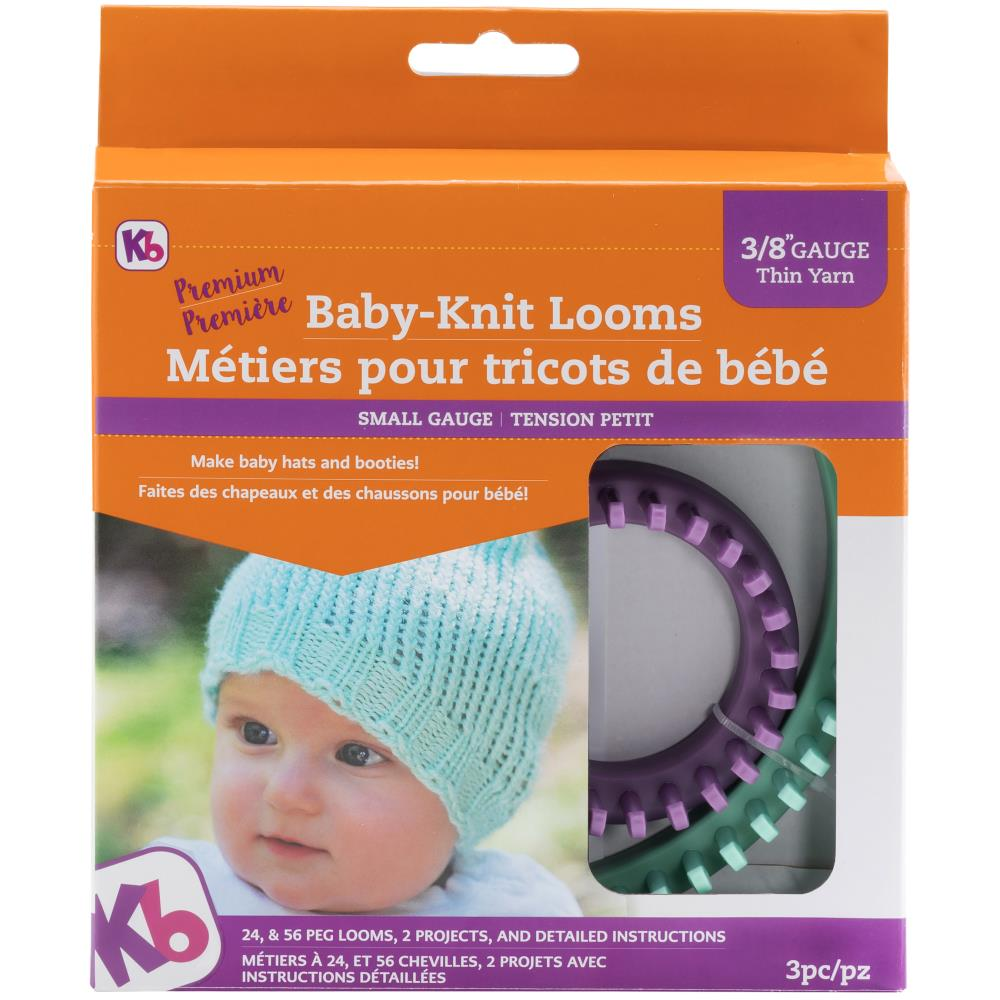 KB Loom .... Knitting Board Baby Knit Looms 2/Pkg