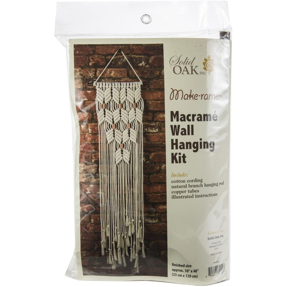 Macrame ......Wall Hanger Kit - Chevron's & Copper