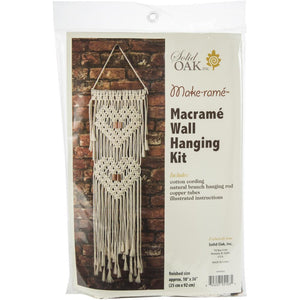 Macrame............. Wall Hanger Kit - Hearts