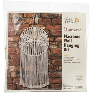 Macrame............. Wall Hanger Kit- Dragonfly