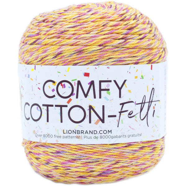 Lion Brand Comfy Cotton Fetti
