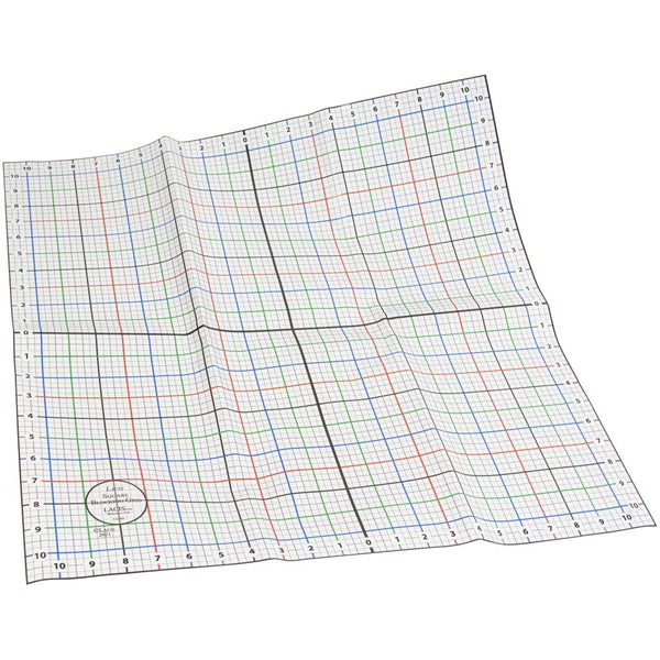 "Lacis 22"" x 22"" Square Blocking Grid Sheet"