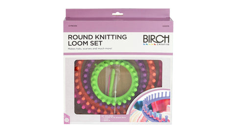 Birch Round Loom Set