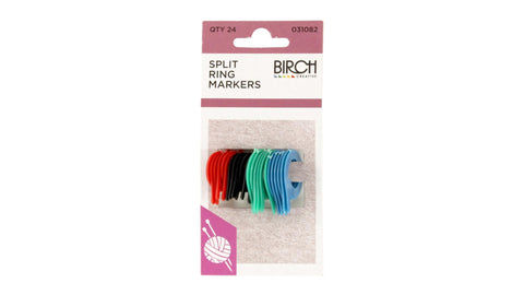 Birch Split Ring Markers (031082)