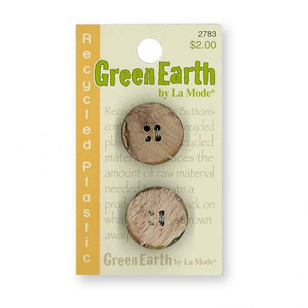 Green Earth Buttons
