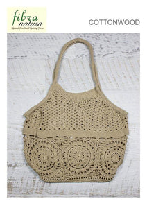 Fibra Natura Cottonwood Crochet Bag Pattern