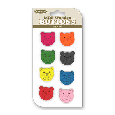 Wooden Button Packs