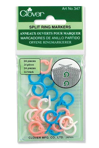 Clover .....Split Ring Markers