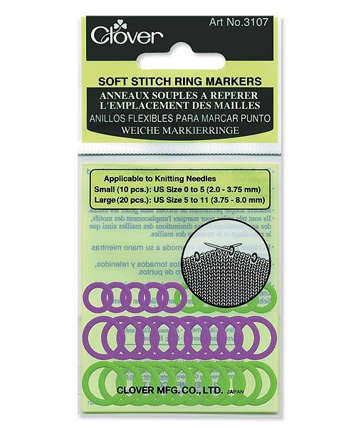 Soft Stitch Ring Markers (3107)