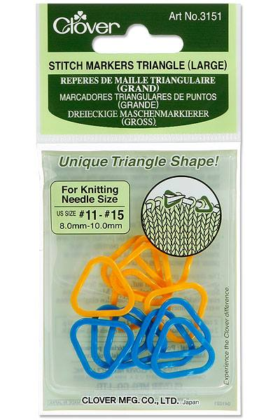 Triangle Stitch Markers (Large)