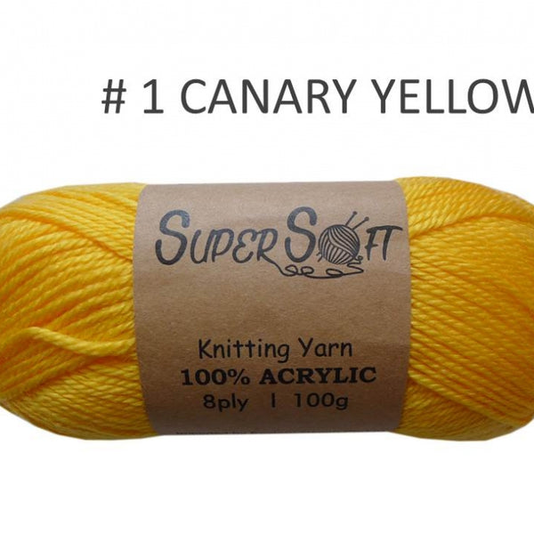 ☆ Supersoft 8 ply Yarn ☆ - Creative Corners
