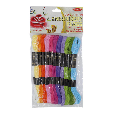 100% Cotton Embroidery Floss