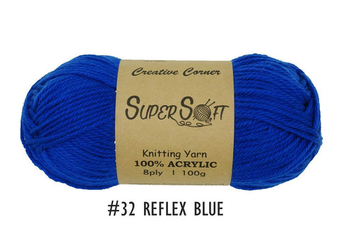 Creative Corners Supersoft 8 ply Yarn