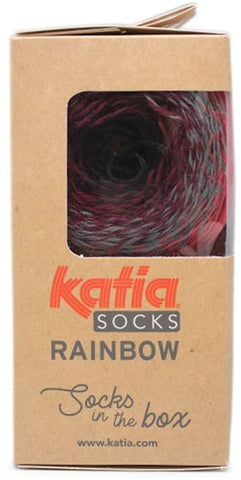 Katia Rainbow Socks In The Box