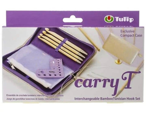 Tulip Carry T Interchangeable Bamboo Tunisian Hook Set (564007)