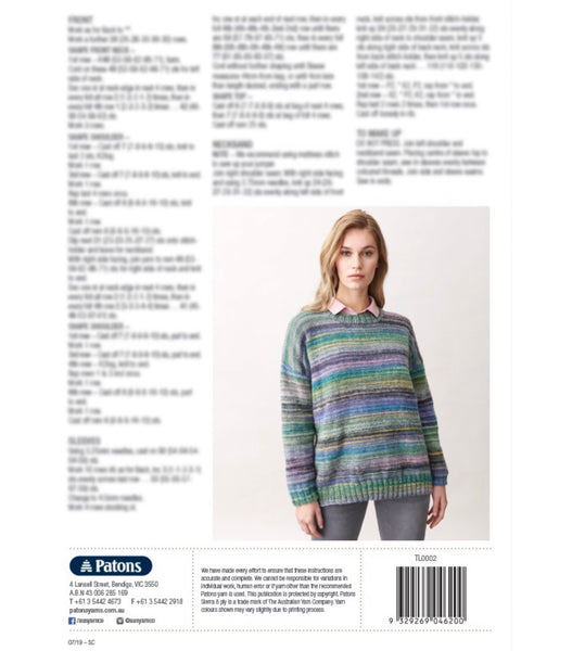 Sierra Seasons Knit Patons Book