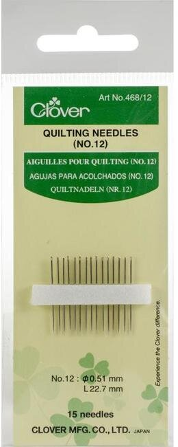 Clover Quilting Needles (468-10)