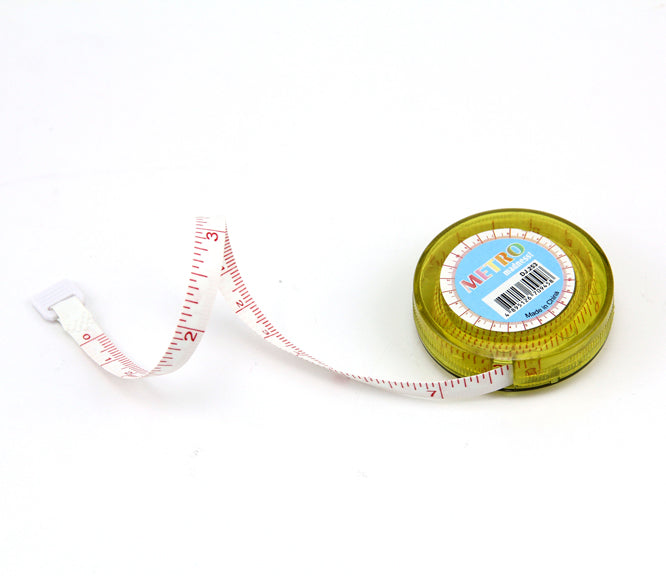 Brightly Coloured Tape Measures