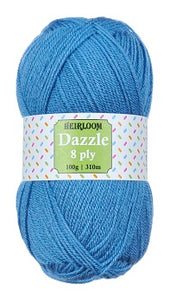 ☆Dazzle 8 ply☆ ~~Heirloom