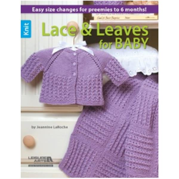 Lace & Leaves for baby Knit