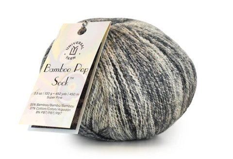 Bamboo Pop Sock ~Universal Yarns