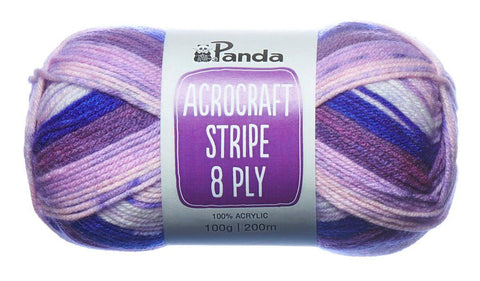 Acrocraft Stripe 8 ply - Panda