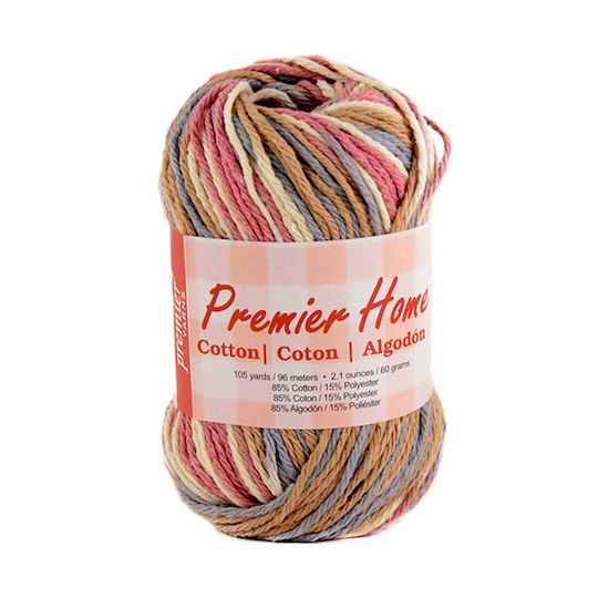 Premier Home Cotton Yarn - Multi 60g