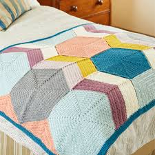 Special DK Pattern 9449 Blankets by Annelies Baes