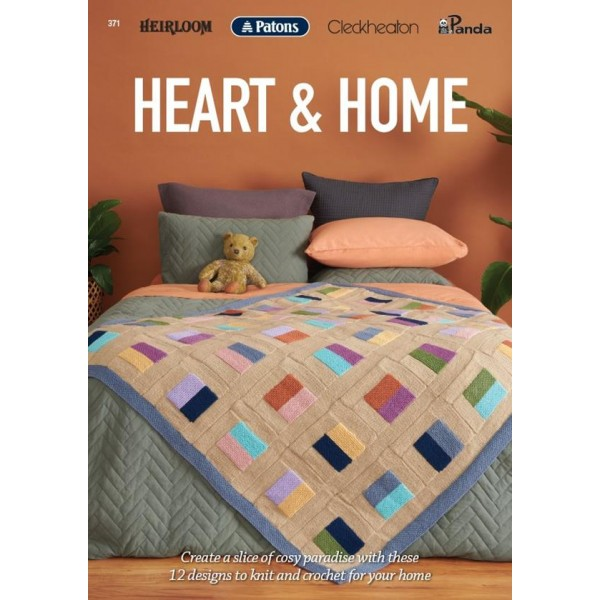 Heart & Home - Patons/Clechheaton/Heirloom/Panda (371)