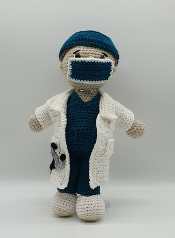 Dr Damian Outfit - Crochet Pattern