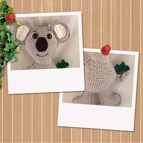 Clem The Koala Cushion Crochet Pattern