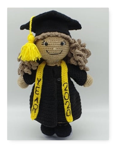 Alaina's Graduation Outfit with LBD Crochet Pattern