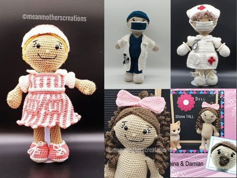 Crochet Patterns Hospital Pack